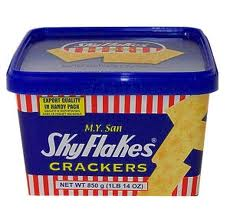 sky flakes crackers-850g