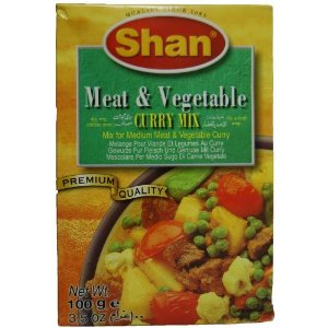 meat vegetable curry mix